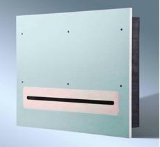 Bild von BOXER100-2 GK Stereo | Vibrationsfreier Stereo Subwoofer in Gipskarton 2x 100 W | 5 Ohm mit integrierter Frequenzweiche