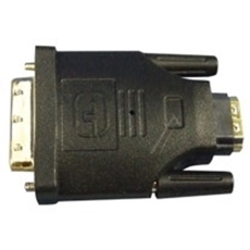 Bild von HDMIFDVIM | HDMI Kupplung female - DVI-D Stecker male Adapter vergoldet