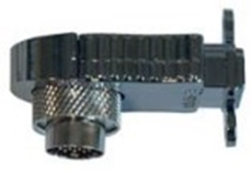 Bild von ICDHDMI F   Installationsadapter 90° digital 19pol. auf HDMI Einbaubuchse