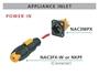 Bild von NAC3FX-W | powerCON TRUE1, Kabelbuchse, Power-IN,