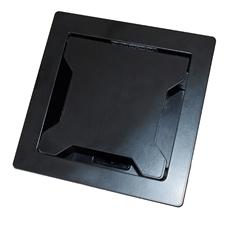 Bild von SKY KCC-S6 CH | Tischanschlussfeld Sky KCC-S6 mit 2x T13 Steckdosen und 6 Kabelauslässe, schwarz