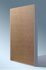 Bild von KIT20 Mini PN | Unsichtbarer Lautsprecher in Holzwerkstoffplatte 20 W | 8 Ohm mit integrierter Frequenzweiche