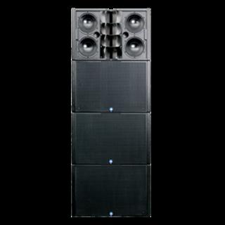 "Bild von IC2-FR-BK | Iconyx 4x 8"" & 4x 1"" Digitally Steerable Array with CobraNet - Black"