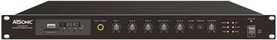 Bild von T-B240TB | USB/SD/Radio/Bluetooth Mischverstärker 240 Watt | 100 Volt