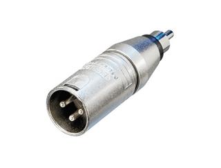 Bild von NA2MPMM   Adapter XLR male auf Cinch male