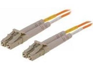 Bild von LWL_P2FSMLC   _m Patchkabel 2 Fasern single mode 9/125µm APC, beidseitig konfektioniert mit LC-Duplex Stecker