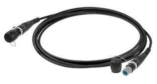 Bild von NKO(XX)4S(A)-A-_-_   _m LWL Feldkabel 4 Fasern single mode 9/125µm, konfektioniert mit Neutrik opticalCON QUAD Ring/Kabeltrommel