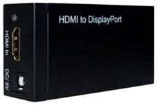 Bild von HDMIFDPF | HDMI Konverter Buchse female IN auf Display Port Buchse female OUT, aktiv