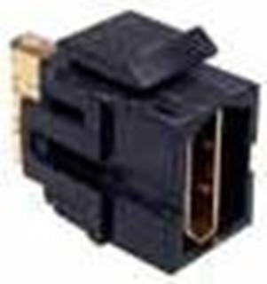 Bild von KST HDMI sw   Keystone HDMI Durchführung f/f schwarz