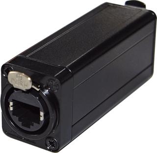 Bild von DMX-CAT5-F | In-line DMX-Adapter mit RJ45 Cat.5 auf 5-poliger XLR-Einbaubuchse