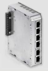Bild von SWITCH6+POE DC | 4+2 Port (PoE+) managed Gigabit Industrie Erweiterungsmodul