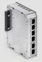 Bild von SWITCH6+POE DC   4+2 Port (PoE+) managed Gigabit Industrie Erweiterungsmodul