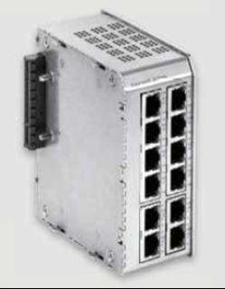 Bild von SWITCH12+POE DC | 8+4 Port (PoE+) managed Gigabit Industrie Erweiterungsmodul