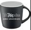 Bild von proCUP | Kaffeetasse schwarz matt mit Aufdruck einseitig