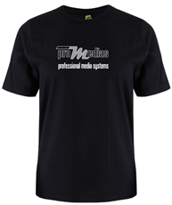 Bild von proSHIRT | T-Shirt schwarz mit Aufdruck vorne und hinten