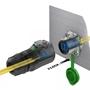 Bild von LP-24-F00PE-P02-500 | LP-24 LWL LC Duplex 2 x CNLINKO Glasfaserstecker mit 500 M Kabel Singlemode
