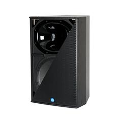 "Bild von CA151-RD-BK | Aktiver 15""/1"" Full Range Lautsprecher mit analog, AES/EBU, Dante (redundant) inputs & RHAON DSP, 60x40° - Black"