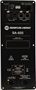 "Bild von CA81-RD-BK | Aktiver 8""/1"" Full Range Lautsprecher mit analog, AES/EBU, Dante (redundant) inputs & RHAON DSP, 120x60° - Black"