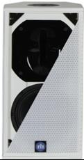 "Bild von CA81-RD-WT | Aktiver 8""/1"" Full Range Lautsprecher mit analog, AES/EBU, Dante (redundant) inputs & RHAON DSP, 120x60° - White"