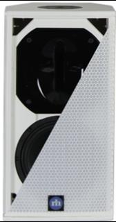 "Bild von CA81-RD-WT   Aktiver 8""/1"" Full Range Lautsprecher mit analog, AES/EBU, Dante (redundant) inputs & RHAON DSP, 120x60° - White"