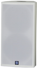 "Bild von CA121-RD-WT | Aktiver 12""/1"" Full Range Lautsprecher mit analog, AES/EBU, Dante (redundant) inputs & RHAON DSP, 90x40° - White"